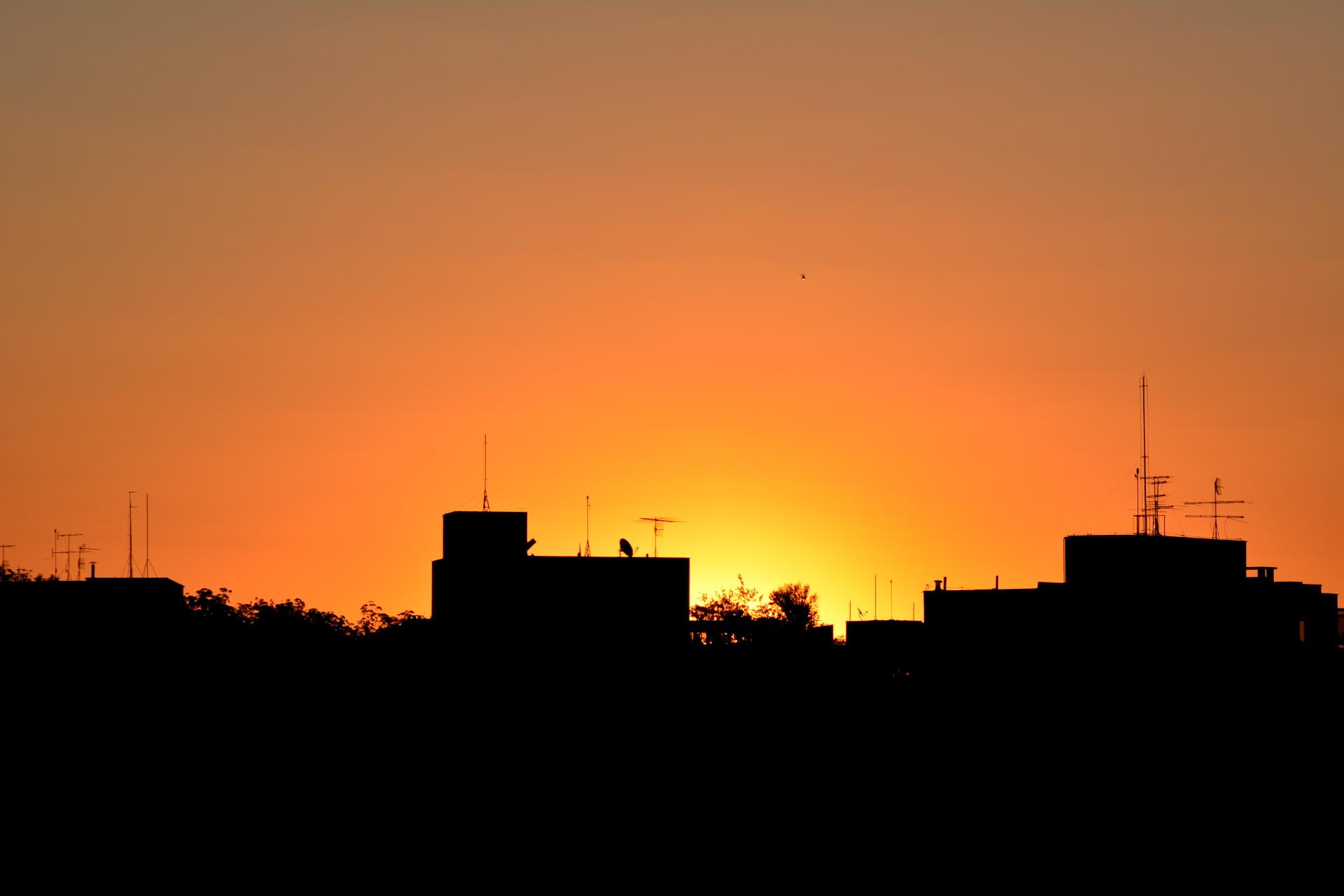 Pôr do Sol Paulistano com Helicóptero